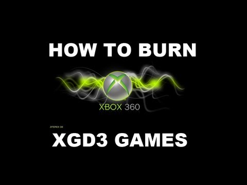 How to burn XGD3 games with ANY DRIVE! (Tutorial)