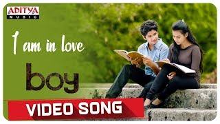 I am in love Video Song    Boy Songs    Lakshya Sinha, Sahiti    Elwin James and Jaya Prakash.J