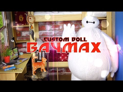 DIY - How to Make:  Custom Baymax Doll - BIG HERO SIX - Handmade - Doll - Crafts
