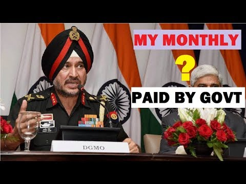 1,50,000 rs salary in indian army how we get with best position ranks pay scale of soldier officer