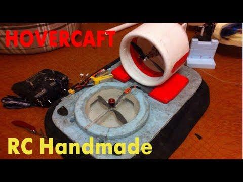RC Handmade - Hovercraft. Scratch build.
