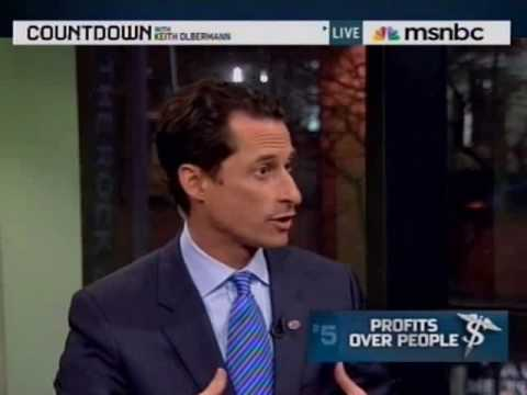 Weiner Discusses Medicare Buy-In on Countdown 12/11/09