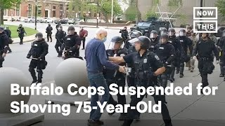 Graphic Video Shows Buffalo Police Officers Shoving 75-Year-Old Man   NowThis