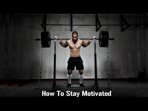 #1 Secret To Staying Motivated to Workout!
