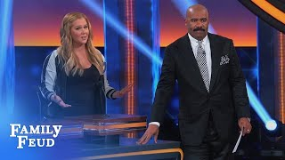 amy schumer knows best celebrity family feud