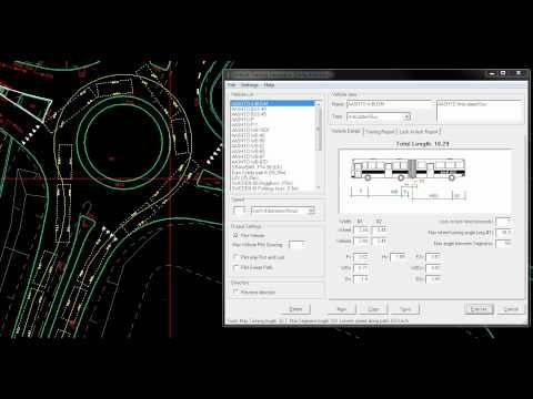 Vehicle Turning Simulation Freeware