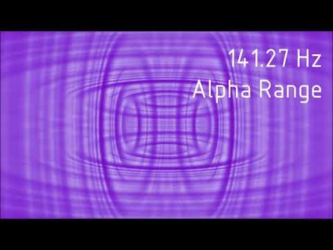 Pure 141.27 Hz Alpha Range Binaural Beats [30 min]