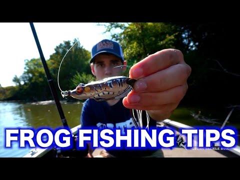 Topwater Frog Fishing Tips - Bass Fishing Techniques
