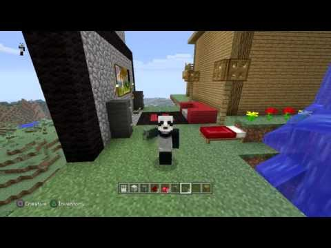 PandaOnFiya Minecraft PS3 - how to make a refrigerator that work #2