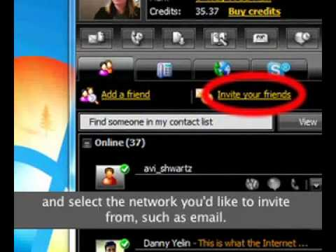 how to ovoo video message and mobile call and group call
