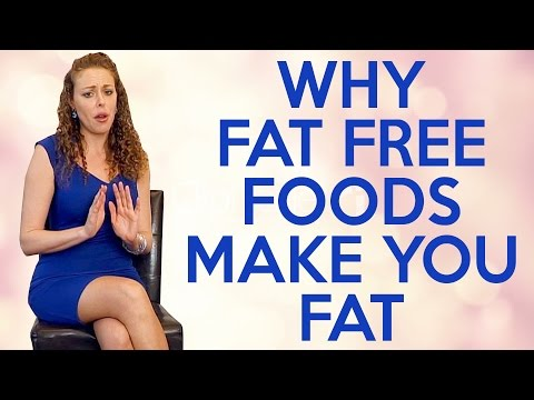 A Weight Loss Mistake: FAT FREE FOODS! Tips for Belly Fat, Skim Milk, LowFat Foods