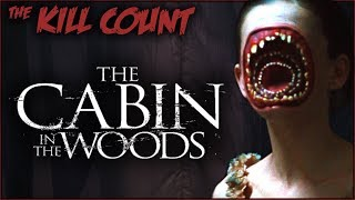 The Cabin in the Woods (2012) KILL COUNT