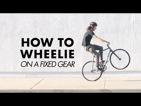 HOW TO WHEELIE ON A FIXIE