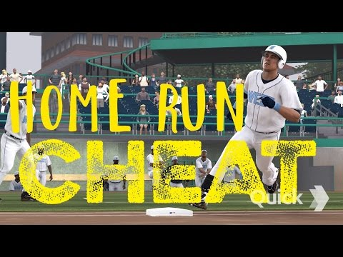 MLB 14 The Show - HOME RUN CHEAT (Road to the Show)