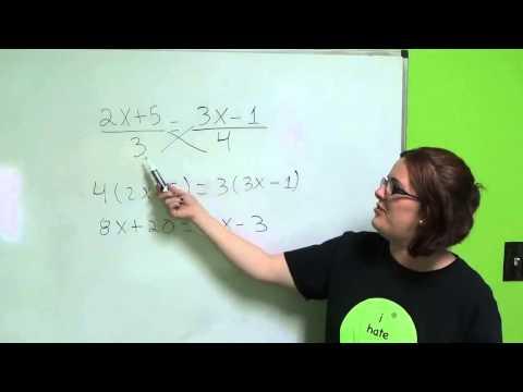 Tutorial de Algebra 5 Ecuaciones