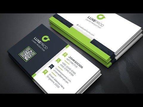 Creating a Modern Business Card Design #03 - Coreldraw Tutorials