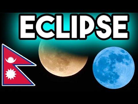 Lunar Eclipse 2018 Nepal Super Blue Blood Moon