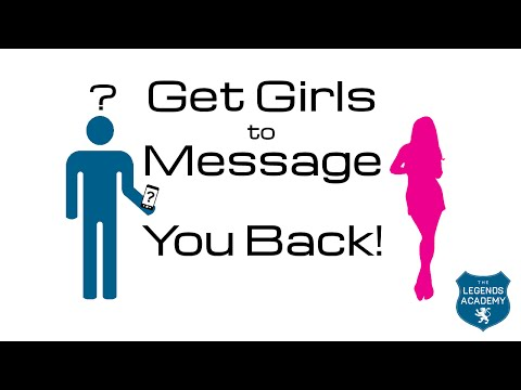 How To Get MORE Girls To Message Back
