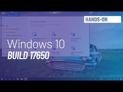 Windows 10 build 17650: Hands-on with Fluent Design, Settings, and more