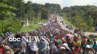 Trump: Migrant caravan traveling toward US 'national emergency'