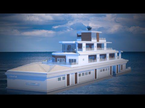 The Sims 4: House Building - Captain Jack's Yacht