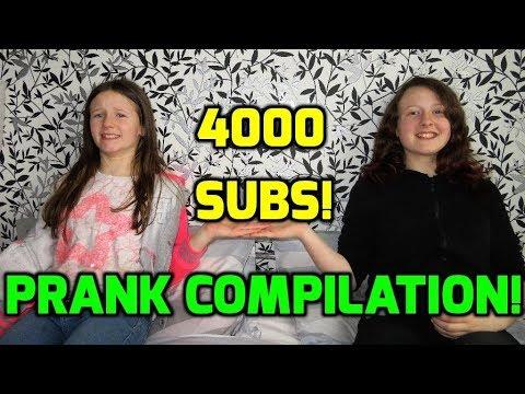 4000 Subscribers Prank Compilation!!