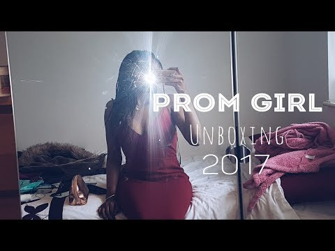 Prom Girl Dress Unboxing 2017