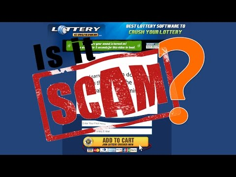 Is Lottery Crusher a Scam❓
