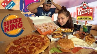 Download American Fast Food Challenge | 10,000+ Calories Video