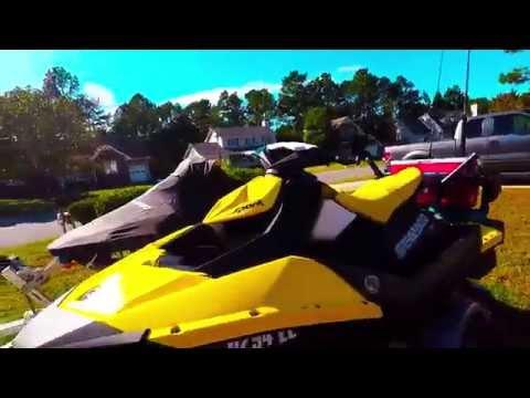 Jet Ski Fishing Setup Sea Doo Spark