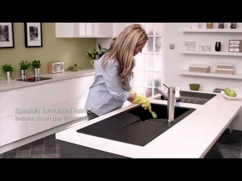 Astraclean by Astracast Specialist composite sink cleaner to remove limescale deposits