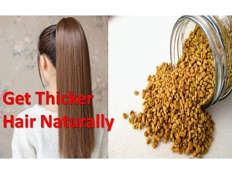 Get Thicker Hair Naturally in a Month | How to Make Your Hair Thicker