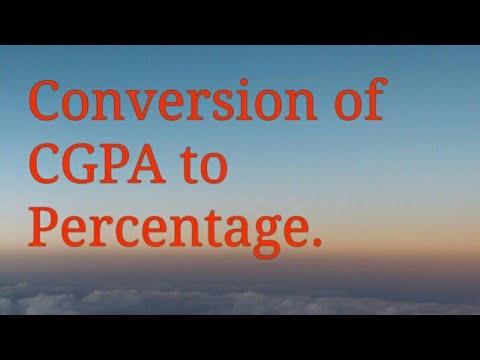 Hpu RUSA how to convert CGPA to Percentage.