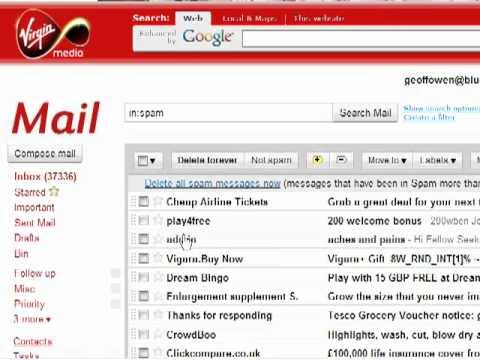 Web Mail - Check you Spam Folder