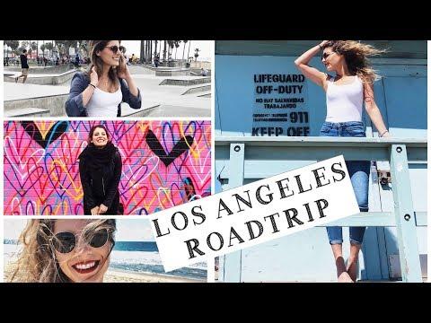 LOS ANGELES ROADTRIP   Venice Beach - Walk of Fame - Beverly Hills