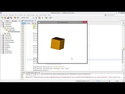 3D-Objekte animieren | Programmieren lernen mit Java – Das Video-Training für Einsteiger