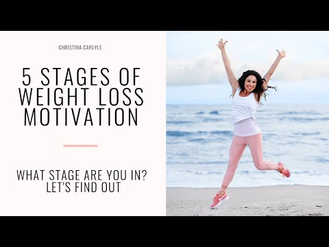 The 5 stages of weight loss - Why Can't I stay Motivated to Lose Weight? - Christina Carlyle