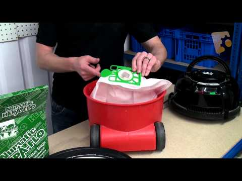 About Henry Vacuum Cleaner Bags & How to replace.
