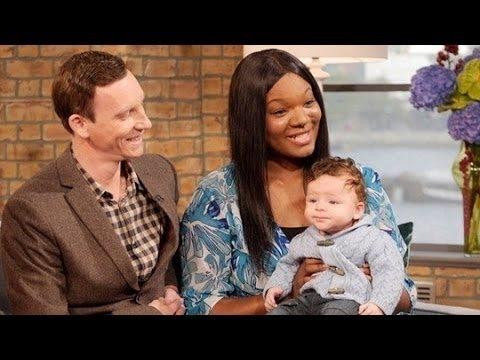 Black Mum Gives Birth to White