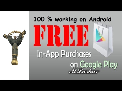 Unlimited FREE In-App/Games Purchases Play Store on Android (2016)
