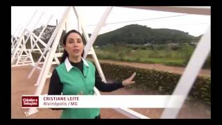 Matéria sobre energia solar - Globo News