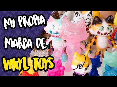 Mi propia marca de VINYL TOYS: STICKUP MONSTERS