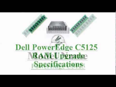 Compatible RAM Memory Upgrade Specifications of Dell PowerEdge C5125 Server Computer System DDR3
