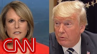 Gloria Borger: Trump looked like he was in a hostage tape