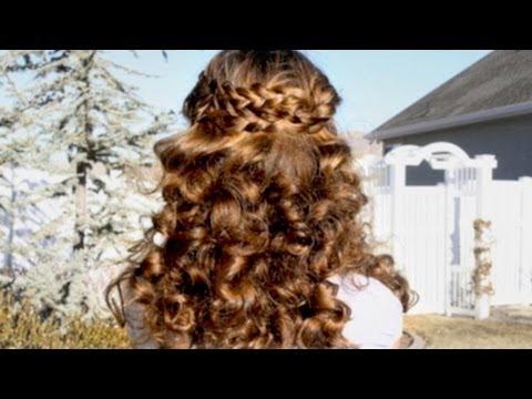 Sock Curls | No Heat Hair Curling  | CuteGirlsHairstyles | Disney Style