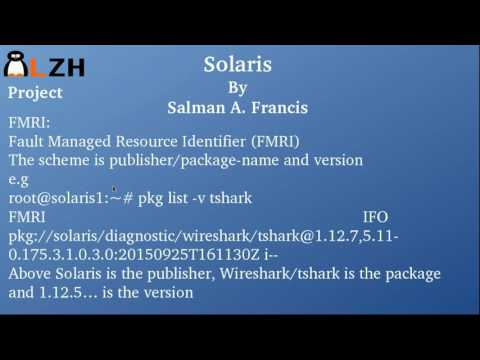 Solaris Package Management ( Part III )