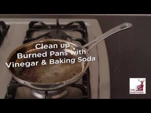 How To Clean Burnt Pans - The Hartford Extra Mile DIY