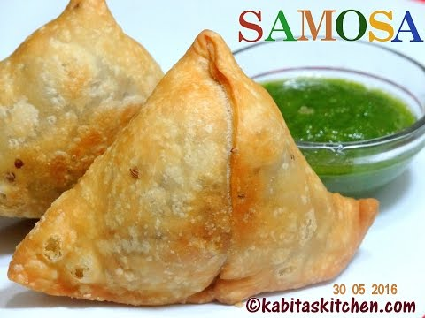 Samosa Recipe-Chatpata and Spicy Samosa-How to Make Samosa Step by Step-Punjabi Samosa-Aloo Samosa