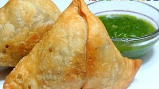 Samosa Recipe-Chatpata and Spicy Samosa-How to Make Samosa Step by Step-Punjabi Samosa-Aloo Samosa