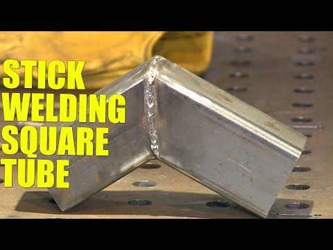 🔥 Stick Welding Square Tube